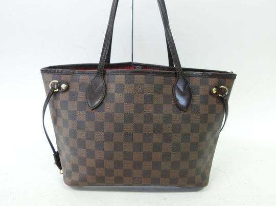 Louis Vuitton Neverfull Pm Mm Damier Ebene Tote in Brown Image 3
