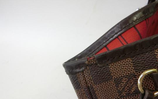 Louis Vuitton Neverfull Pm Mm Damier Ebene Tote in Brown Image 4