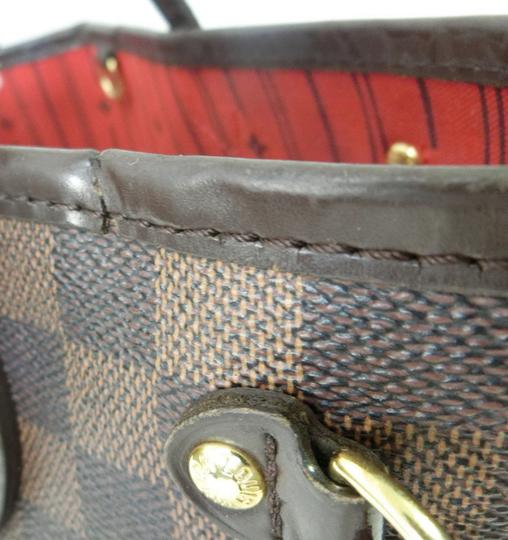 Louis Vuitton Neverfull Pm Mm Damier Ebene Tote in Brown Image 5