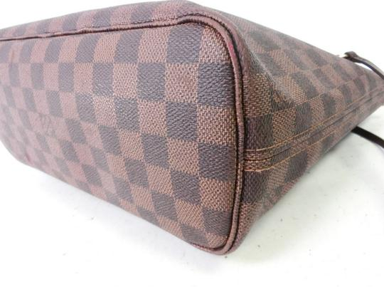 Louis Vuitton Neverfull Pm Mm Damier Ebene Tote in Brown Image 6