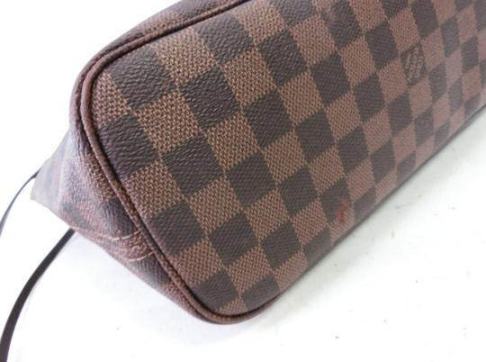 Louis Vuitton Neverfull Pm Mm Damier Ebene Tote in Brown Image 7
