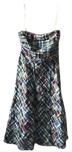 J.Crew short dress Madras/Multi on Tradesy