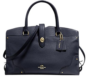 Coach Satchel in navy