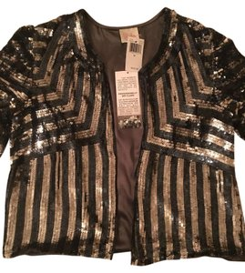 Parker Blue and Silver Sequin Blazer