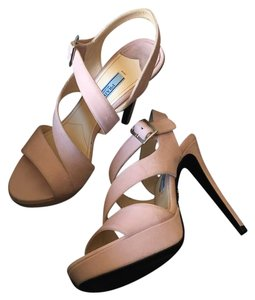 Prada Blush/Light Pink Sandals