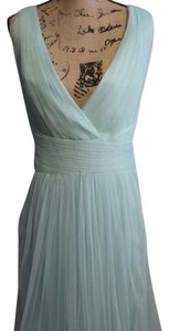Monique Lhuillier Mint Bridesmaid Dress