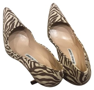 Manolo Blahnik Zebra Pumps