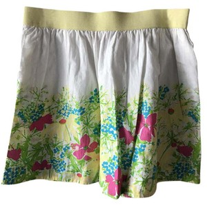 Lilly Pulitzer Mini Skirt White multi