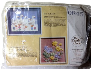 Creative Circle VINTAGE 1986 NEW Creative Circle #0845 Ducks Geese 'On Parade' Charlotte Reilly