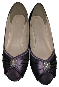 David's Bridal amethyst Wedges