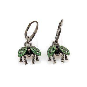 Stephen Webster Fly By Night Superfly Diamond Tsavorite 18k Earrings