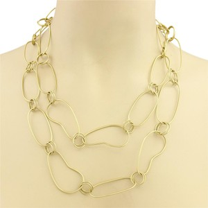 Ippolita 18986 - GLAMAZON Long Kidney Link 18k Gold Necklace - 45