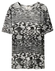 Isabel Marant T Shirt Black And White