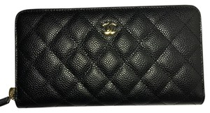Chanel BN Chanel Classic Zip Around Wallet