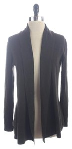 Theory Wool Blend Lightweight Open Front Cardigan Sweater