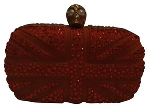 Alexander McQueen orange Clutch
