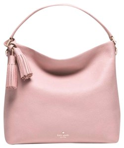 Kate Spade Leather Tassels Shoulder Bag