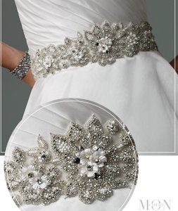 David Tutera For Mon Cheri New! David Tutera For Mon Cheri All Around Wedding Sash Bridal Belt