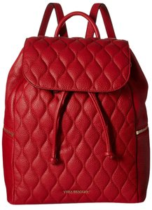 Vera Bradley Quilted Leather Amy 886003310687 Backpack