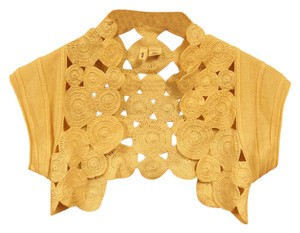 Anthropologie Silk Knit Bolero Shrug Sweater
