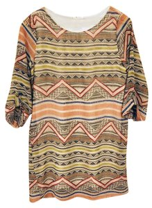 Everly short dress Multi-colored Shift on Tradesy