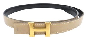 Hermès ( RARE ) 18mm Reversible H Logo Belt Kit 215913