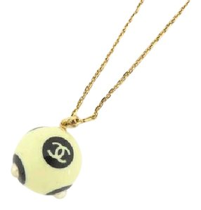 Chanel CC 02a Pearl Necklace 215825