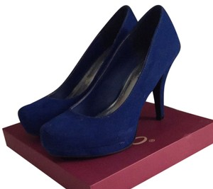 Bamboo Royal Blue Pumps