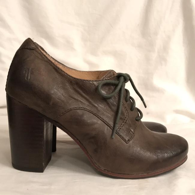 Frye Green Carson Oxford Distressed Oil Rubbed Leather Boots/Booties Size US 6 Regular (M, B) Frye Green Carson Oxford Distressed Oil Rubbed Leather Boots/Booties Size US 6 Regular (M, B) Image 2