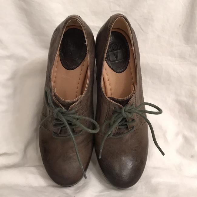 Frye Green Carson Oxford Distressed Oil Rubbed Leather Boots/Booties Size US 6 Regular (M, B) Frye Green Carson Oxford Distressed Oil Rubbed Leather Boots/Booties Size US 6 Regular (M, B) Image 3