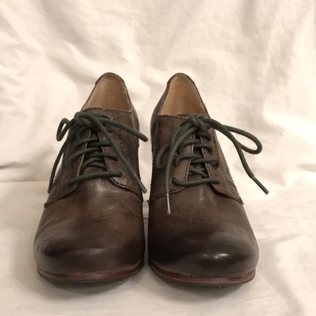 Frye Green Carson Oxford Distressed Oil Rubbed Leather Boots/Booties Size US 6 Regular (M, B) Frye Green Carson Oxford Distressed Oil Rubbed Leather Boots/Booties Size US 6 Regular (M, B) Image 5