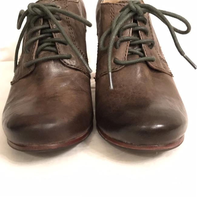 Frye Green Carson Oxford Distressed Oil Rubbed Leather Boots/Booties Size US 6 Regular (M, B) Frye Green Carson Oxford Distressed Oil Rubbed Leather Boots/Booties Size US 6 Regular (M, B) Image 6