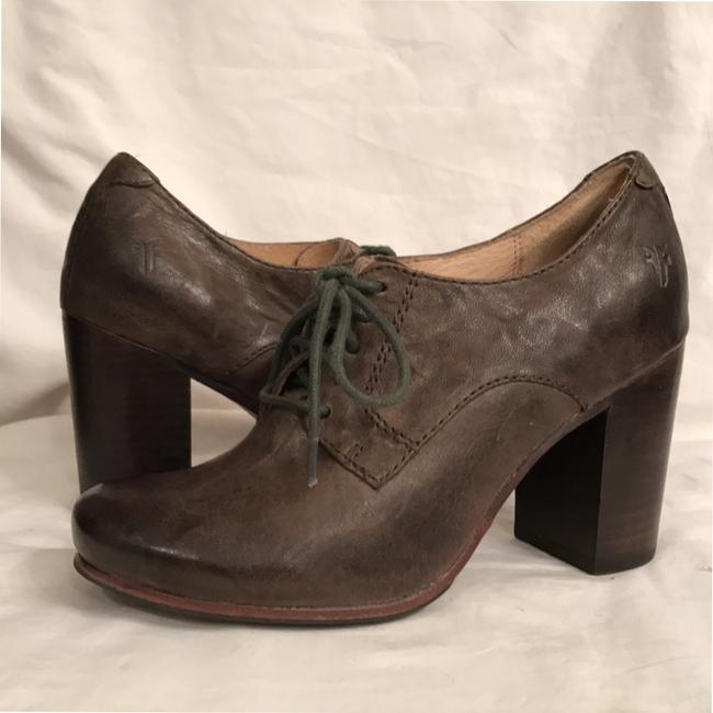 Frye Green Carson Oxford Distressed Oil Rubbed Leather Boots/Booties Size US 6 Regular (M, B) Frye Green Carson Oxford Distressed Oil Rubbed Leather Boots/Booties Size US 6 Regular (M, B) Image 9