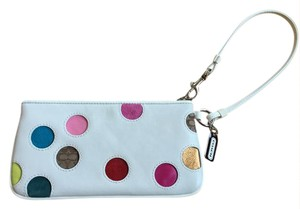 Coach Polka Dot Wristlet Shoulder Bag