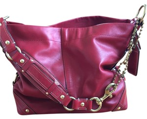 Coach Leather Slouchy Shoulder Bag