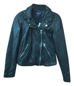 Madewell Leather Motorcycle Leather Leather Jacket