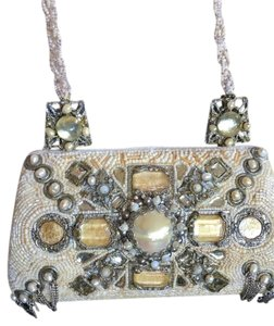 Mary Frances Beaded Chains Evening Shoulder Bag