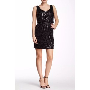 Jessica Simpson Sequin Stretchy Elastic Waist Dress