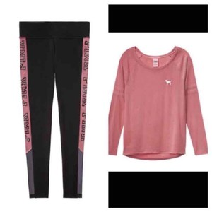PINK Pink VS begonia outfit