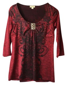 One World Top deep red
