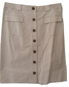 Brooks Brothers Skirt Light Tan