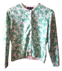 Lands' End Horse Print Sweater