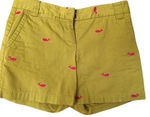 J.Crew Dress Shorts Dark yellow