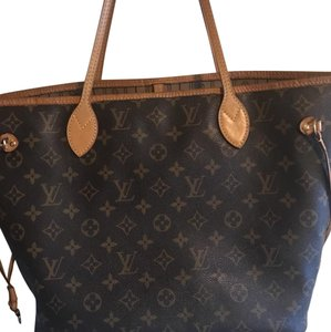 Louis Vuitton MM neverfull Tote in monogram