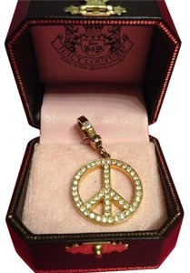 Juicy Couture JUICY COUTURE ADORABLE PAV PEACE SIGN CHARM!!