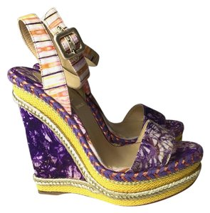Christian Louboutin lilac Wedges