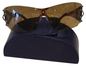 Carolina Herrera Brown Carolina Herrera Sunglasses