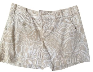 Banana Republic Dress Shorts tan/white
