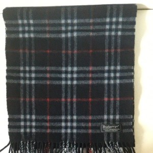 Burberry Burberrys of London Classic scarf Navy blue Check
