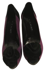 Kate shoes purple and black Pumps